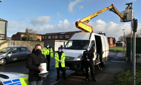 WCCTV Redeployable Domes - Cheshire Police Install